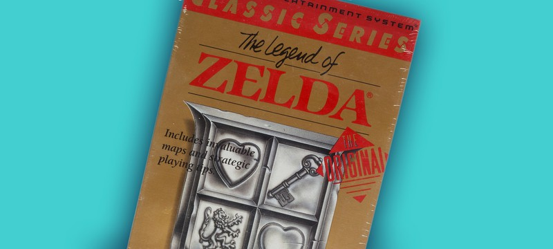 Картридж The Legend of Zelda продали за $3360 на аукционе