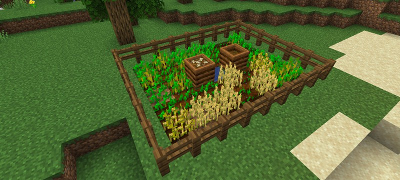 В Minecraft появилась возможность делать компост