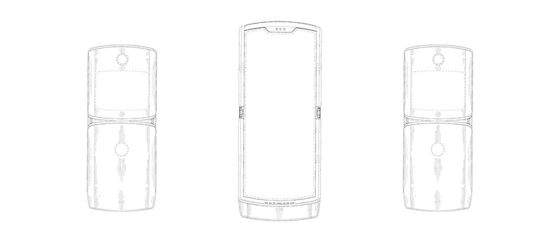Motorola оформила патент на смартфон со складным дисплеем