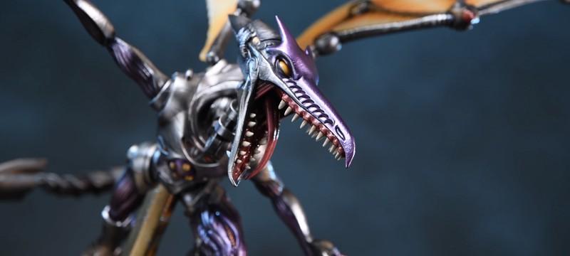 First 4 Figures представила металлическую фигурку Ридли из Metroid Prime