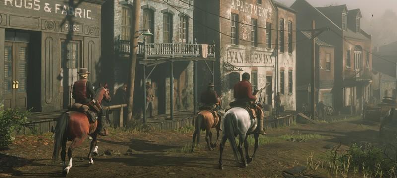 Обновления Red Dead Online запланированы на несколько месяцев вперед