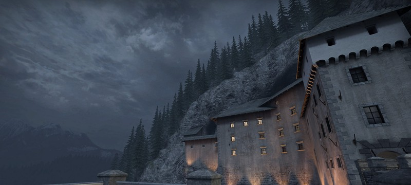 Игрок сравнил реальный замок в Словении с его прототипом в CS: GO
