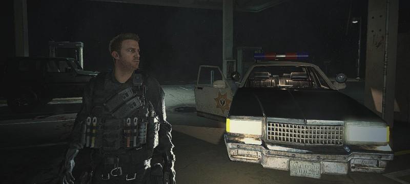 Фанаты нашли в ремейке Resident Evil 2 модель Криса Редфилда