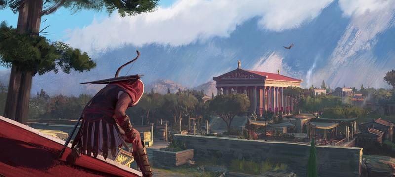 Захватывающие концепт-арты Assassin's Creed: Odyssey