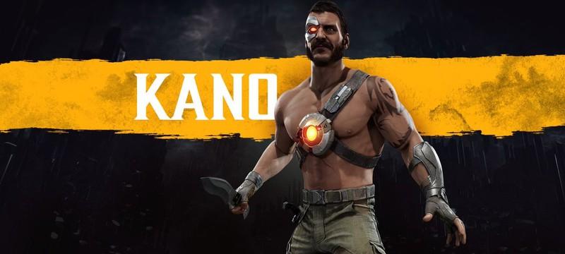 Кано появится в Mortal Kombat 11 и получит эксклюзивный скин для Бразилии