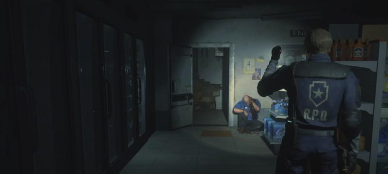 Как мог выглядеть ремейк Resident Evil 2 с камерой в духе оригинала
