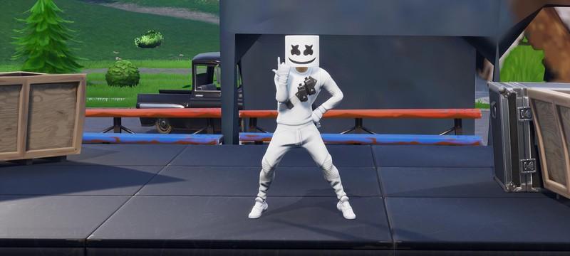 Концерт Marshmello в Fortnite посмотрели более 10 миллионов игроков
