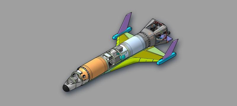 Схема и план работы российского космического дрона