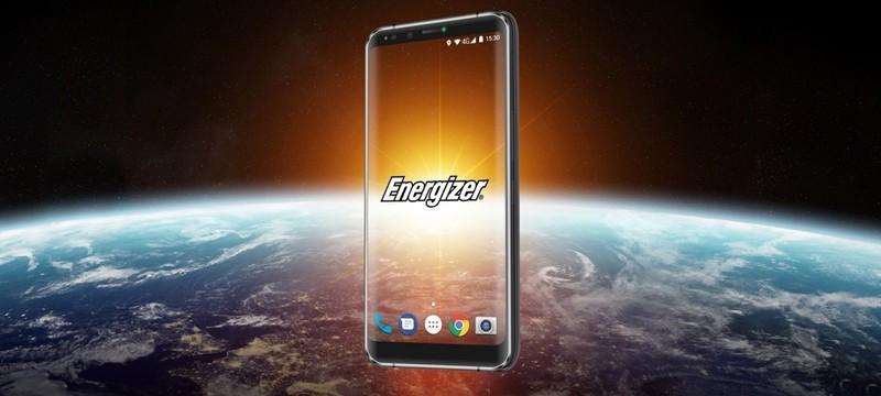 Новый смартфон Energizer оснащен самым емким аккумулятором