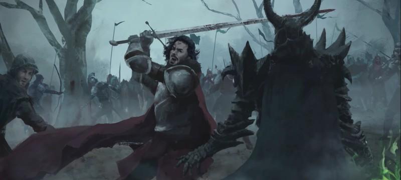 16 минут геймплея стратегии Bannermen