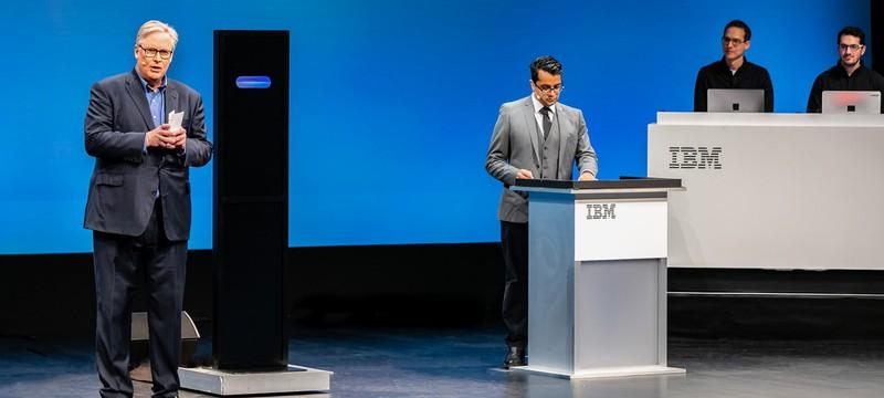 ИИ IBM не смог переспорить человека на дебатах