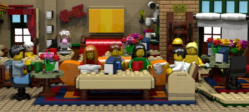 """LEGO выпустит набор по сериалу """"Друзья"""""""