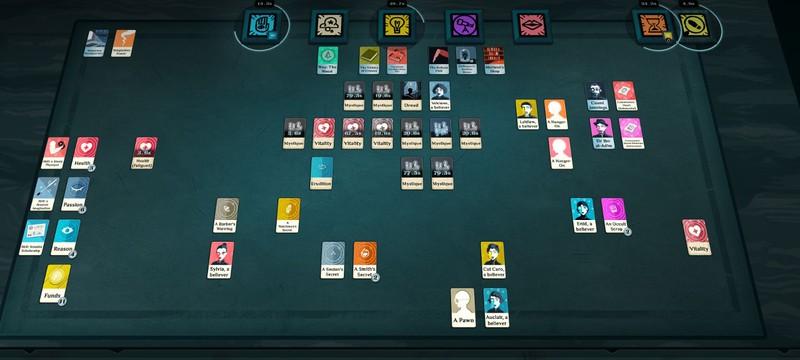 Карточную игру Cultist Simulator купили более 100 тысяч раз