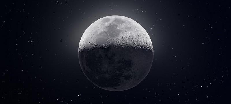 Это фото Луны создано из 50 тысяч отдельных изображений