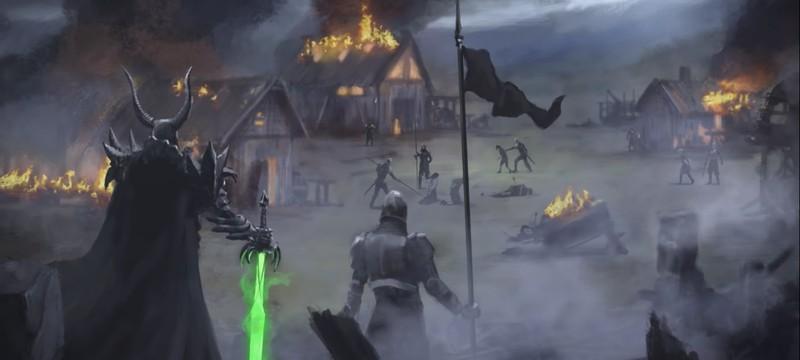 Релизный трейлер стратегии Bannermen
