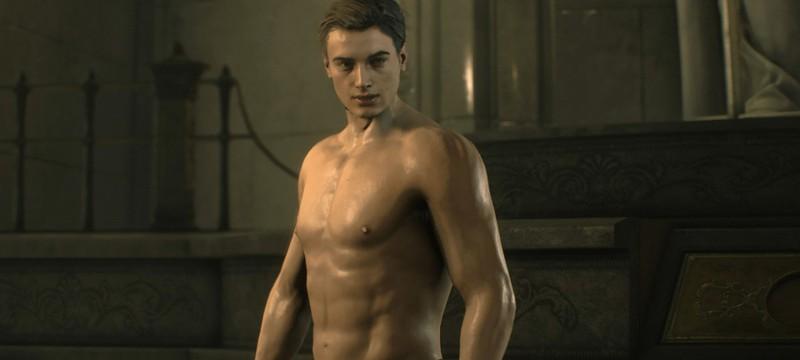 Мод Resident Evil 2 раздевает Леона до стрингов