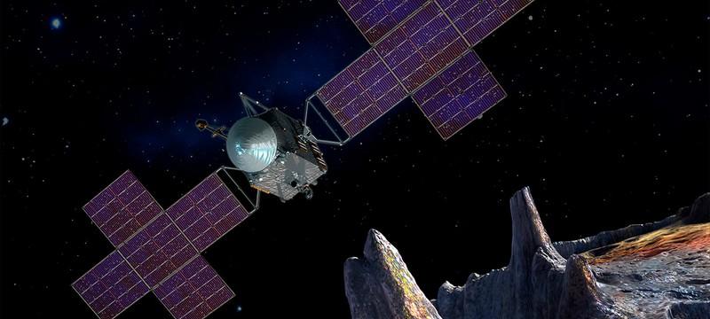 NASA подготовила планы для миссии к металлическому астероиду