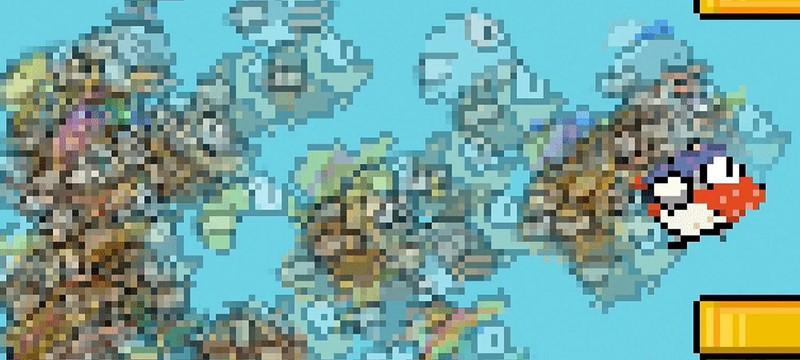 Flappy Bird превратилась в королевскую битву
