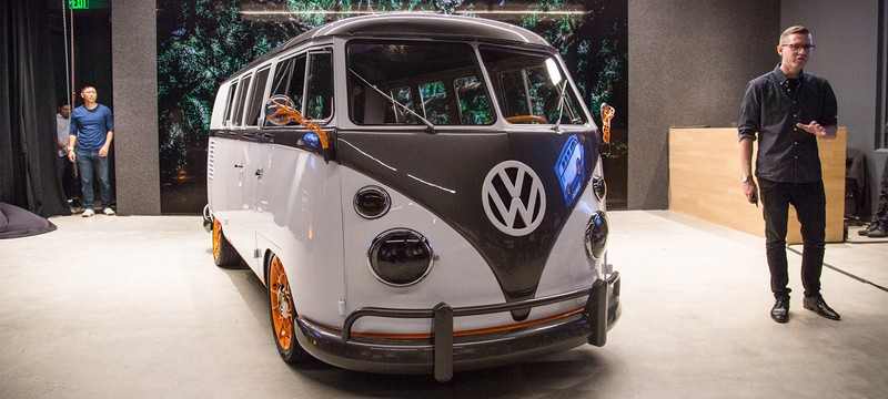 Концепт Volkswagen Type 20 соединяет электрокар и олдскульный микроавтобус