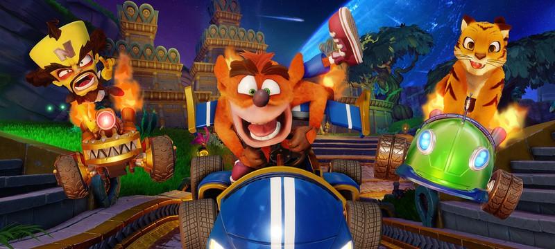 Crash Team Racing: Nitro-Fueled лидирует в чарте EMEAA