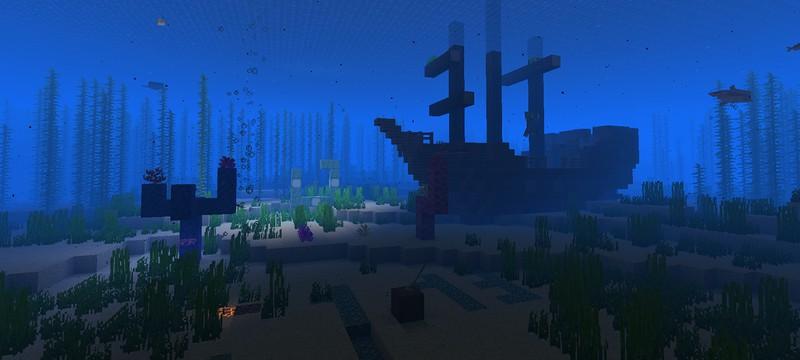 """Мод на губку в Minecraft позволит """"впитать"""" весь океан"""
