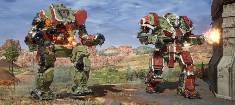 Ракеты и лазеры — новые скриншоты MechWarrior 5: Mercenaries