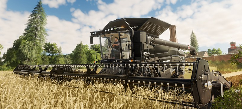 Турнир по Farming Simulator 19 привносит драму в уборку пшеницы