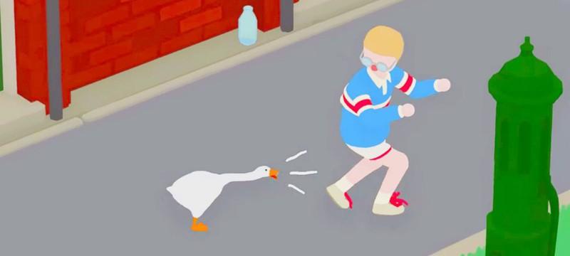 Как будет выглядеть свалка в Untitled Goose Game, если ограбить всю деревню