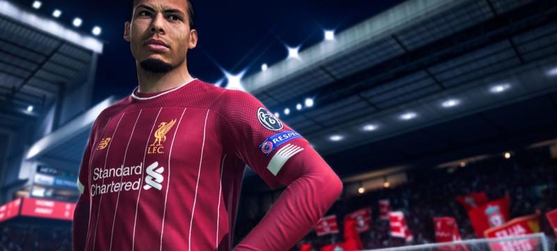 10 миллионов игроков и 450 миллионов матчей — первая статистика FIFA 20