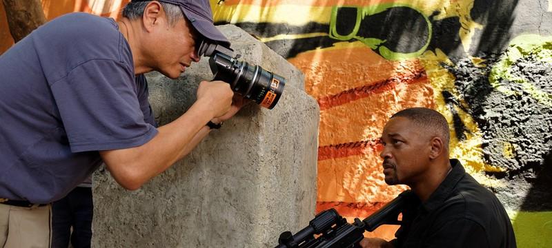 """120 fps, 4K и 3D — Уилл Смит показал камеру, на которую снимали """"Гемини"""""""