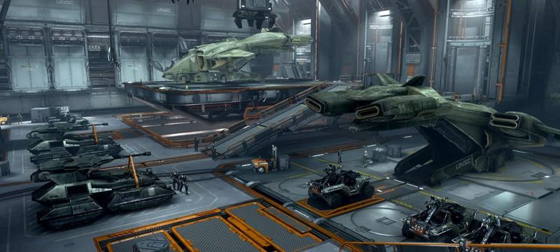 В мобильной стратегии Stellaris: Galaxy Command нашли арт из Halo 4