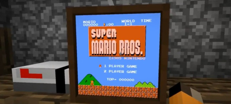 Моддер добавил в Minecraft эмулятор консоли NES