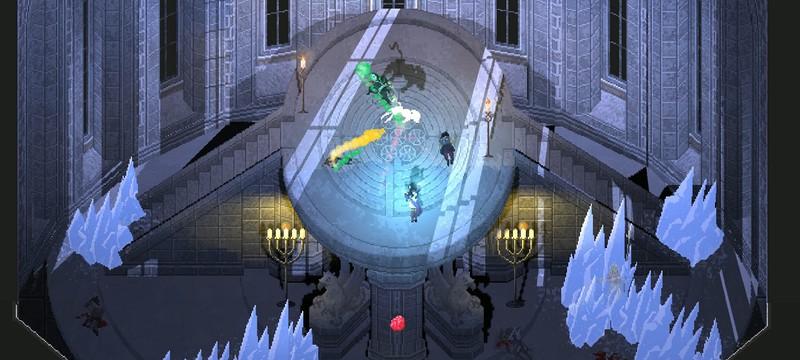 Быстрый кровавый экшен в первом трейлере пиксельной ARPG Unsouled