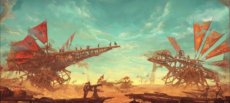 Первые шаги номадов в геймплейном ролике сурвайвала Last Oasis