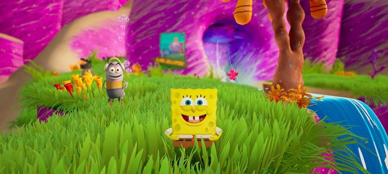 Два десятка красочных скриншотов из ремейка игры про Губку Боба