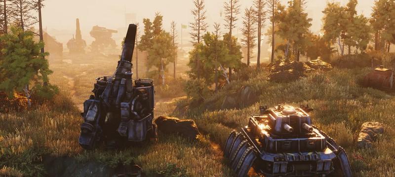 Дизельные мехи и шагающие танки в мультиплеерном геймплее стратегии Iron Harvest