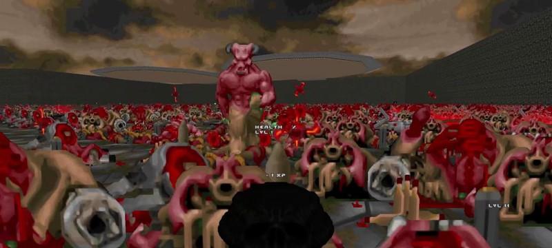 Этот мод добавляет в Doom механики Borderlands