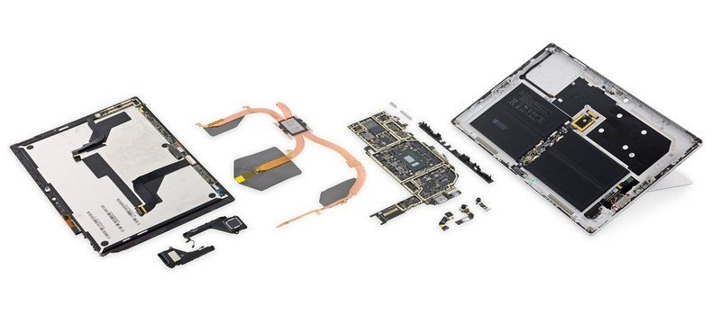 iFixit: Surface Pro X — самый ремонтопригодный планшет на рынке
