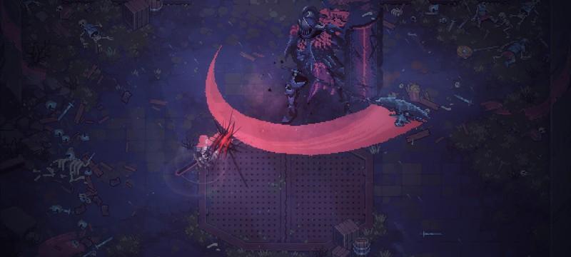 Месть старым Богам в геймплее пиксельного экшена Eldest Souls