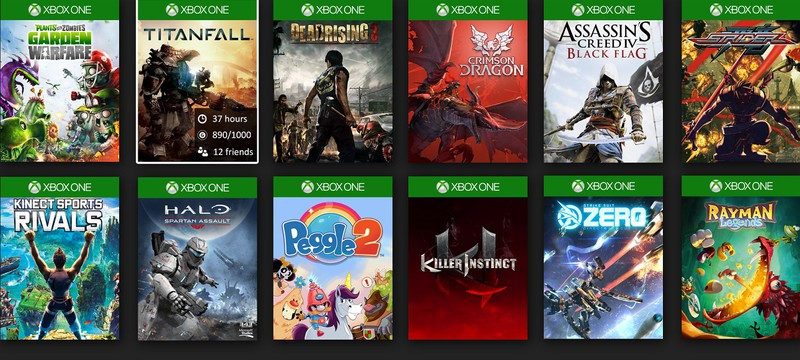 В библиотеке Xbox может появиться кнопка запуска случайной игры