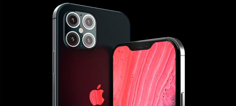 Рендеры iPhone 12 представляют четыре камеры и плоские края