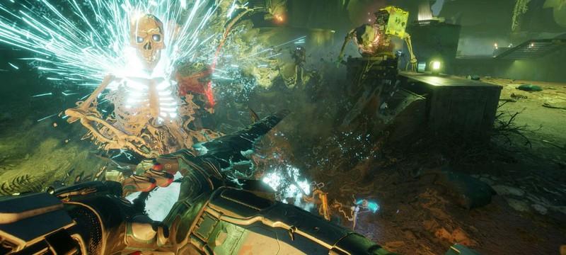 """Гигантские скелеты, магический меч и поезд-призрак в релизном трейлере DLC """"Террормания"""" для Rage 2"""
