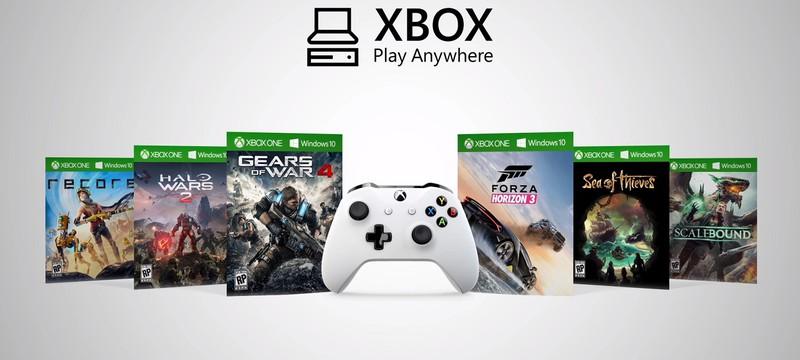 Play Anywhere будет объединять Xbox One, PC и следующее поколение Xbox