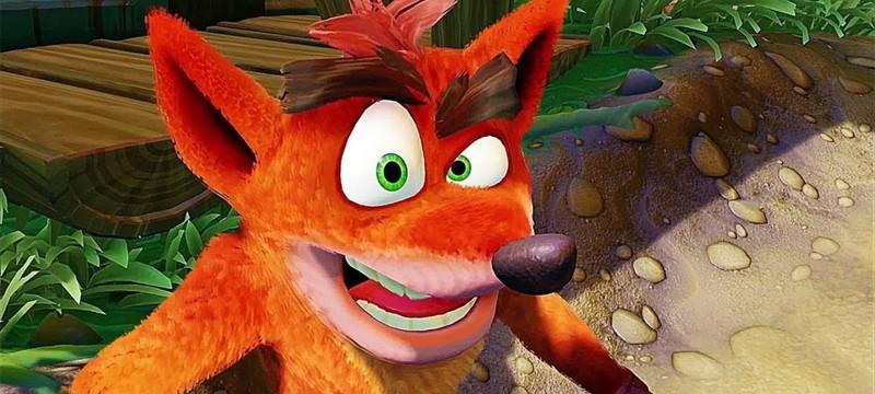 Слух: В разработке новая часть Crash Bandicoot — и это не ремейк