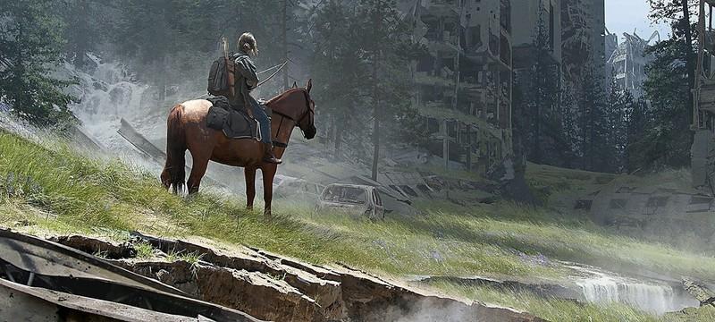 Элли с луком, собакой и конем — новые концепты The Last of Us Part 2