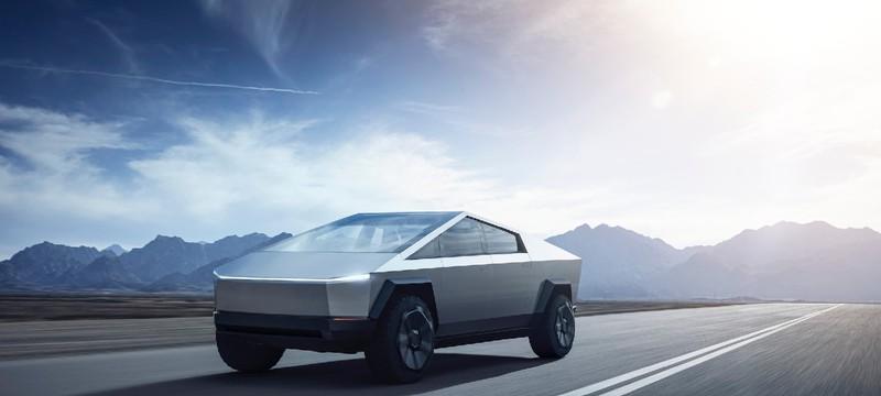 Tesla представила футуристический пикап Cybertruck