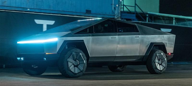 Cybertruck Илона Маска может попасть в Cyberpunk 2077