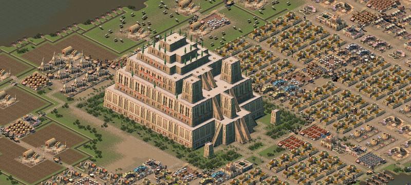 Первый трейлер градостроительной стратегии Nebuchadnezzar — наследницы Ceasar 3