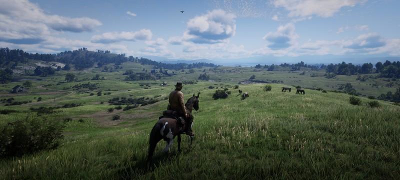 Ютубер показал красоты Red Dead Redemption 2 с самой высокой точки карты на максимальных настройках графики