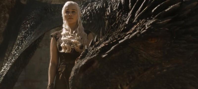 """Шоураннеры """"Игры престолов"""" подтвердили, что Дрогон не съел Дейнерис в финале сериала"""